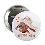 """Hermit Crab 2.25"""" Button"""