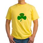 Foxy Irish Momma Yellow T-Shirt