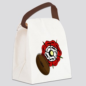 England Rose Rugby Canvas Lunch Bag