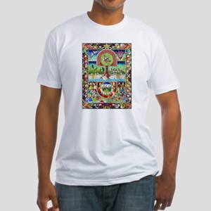 12 Days of Christmas Fitted T-Shirt