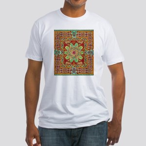 Carpet Page Fitted T-Shirt