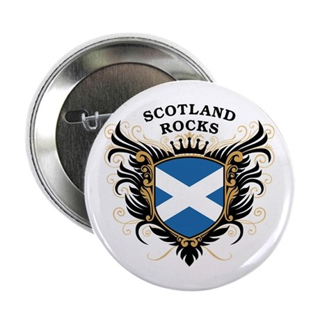 "Scotland Rocks 2.25"" Button"