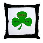 Foxy Irish Mom Throw Pillow