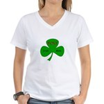 Foxy Irish Mom Women's V-Neck T-Shirt