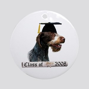 Wirehaired Grad 08 Ornament (Round)