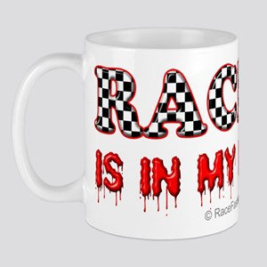 Racing in Blood Mug