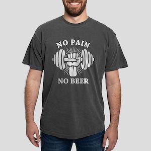 No Pain No Beer Mens Comfort Colors Shirt