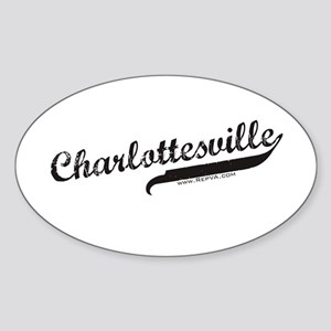 Charlottesville Oval Sticker