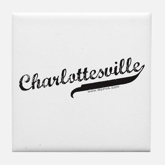 Charlottesville Tile Coaster