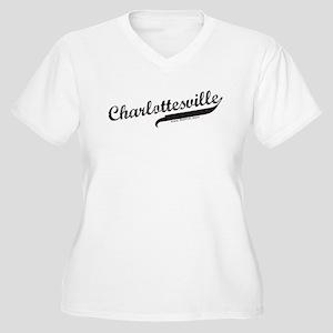 Charlottesville Women's Plus Size V-Neck T-Shirt