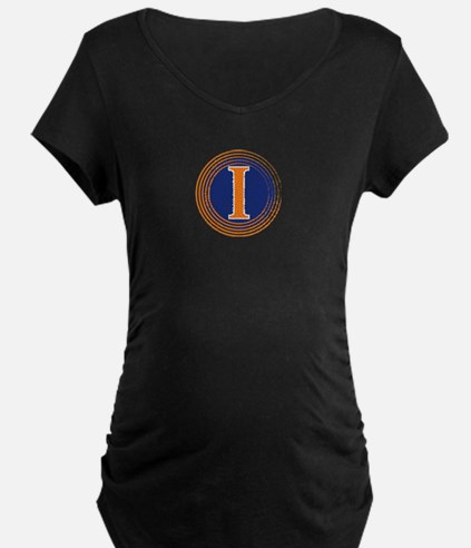 Fighting Illini Maternity T-Shirt
