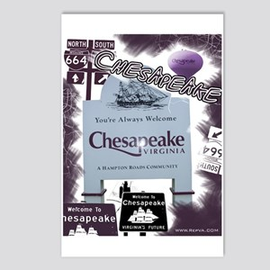 Chesapeake 2 Postcards (Package of 8)