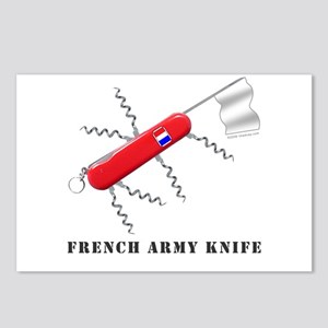 French Army Knife Postcards (Package of 8)