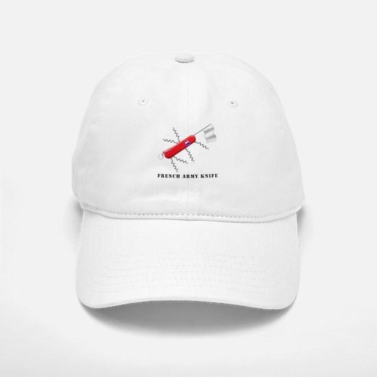 French Army Knife Baseball Baseball Cap