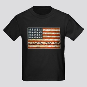 Made In The USA Kids Dark T-Shirt