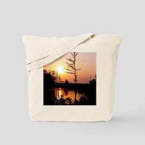 Delta Solemn Sunset Tote Bag