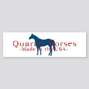 Quarter Horse Bumper Sticker