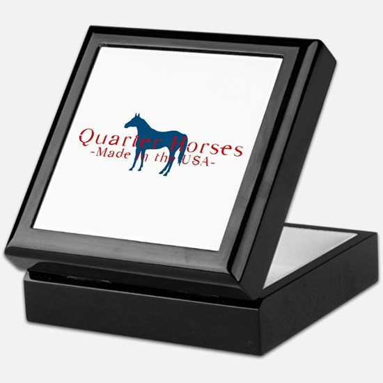 Quarter Horse Keepsake Box