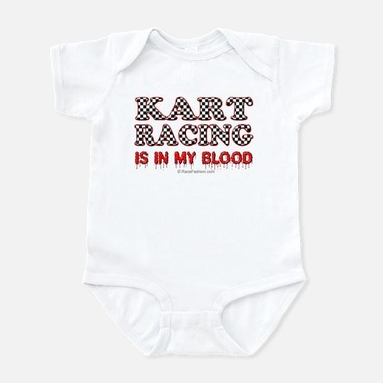 Kart Racing Blood Infant Bodysuit