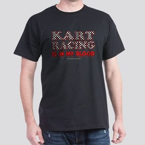 Kart Racing Blood Dark T-Shirt