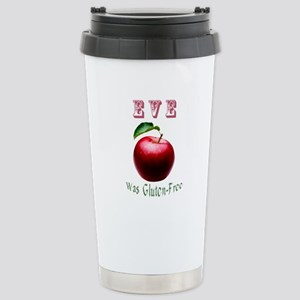 Eve Was Gluten-Free with a Red Apple Design Mugs