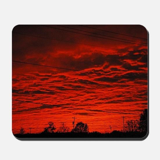 Delta Fiery Sunrise Mousepad