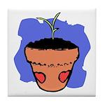 Flower Pot Art Tile