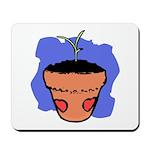 Flower Pot Mousepad