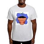 Flower Pot Ash Grey T-Shirt