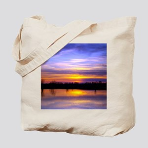 Delta Peaceful Sunset Tote Bag