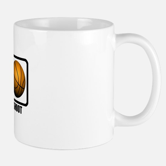 Eat, Sleep, Shoot (Basketball Mug