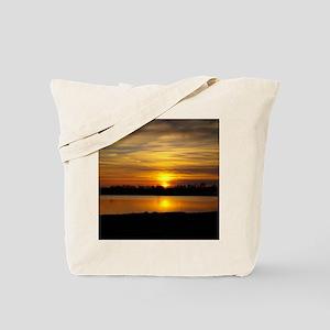 Delta Amber Sunset Tote Bag
