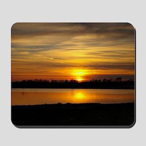Delta Amber Sunset Mousepad