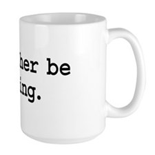 i'd rather be flying. Large Mug