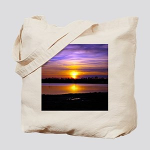 Delta Purple Sunset Tote Bag