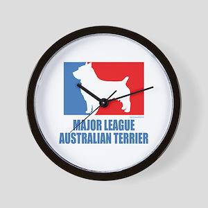 ML Australian Terrier Wall Clock