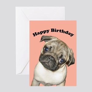 Pug Puppy Birthday Cards Pk Of 10 Greeting