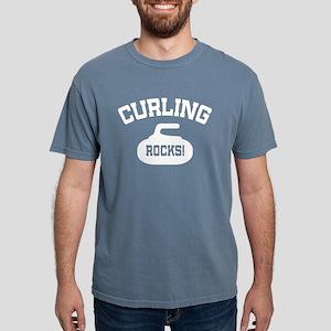 Curling Rocks! Women's Dark T-Shirt