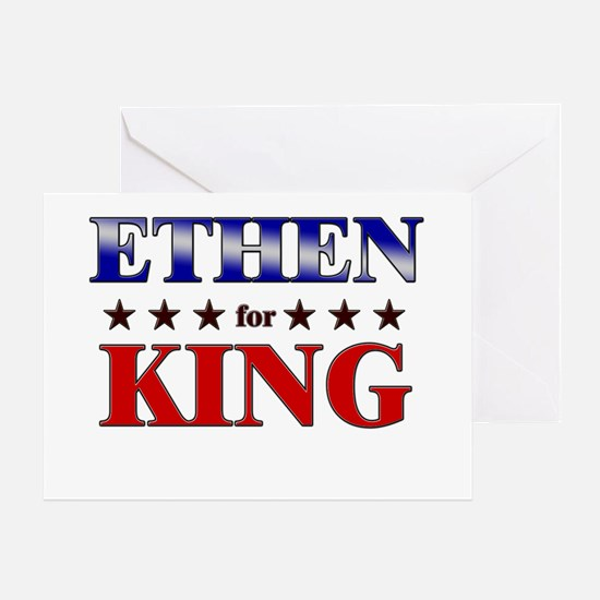 ETHEN for king Greeting Card