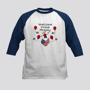 Welcome Home Mommy - Boy Kids Baseball Jersey