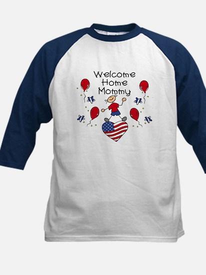 Welcome Home Mommy - Boy Kids Baseball Jersey