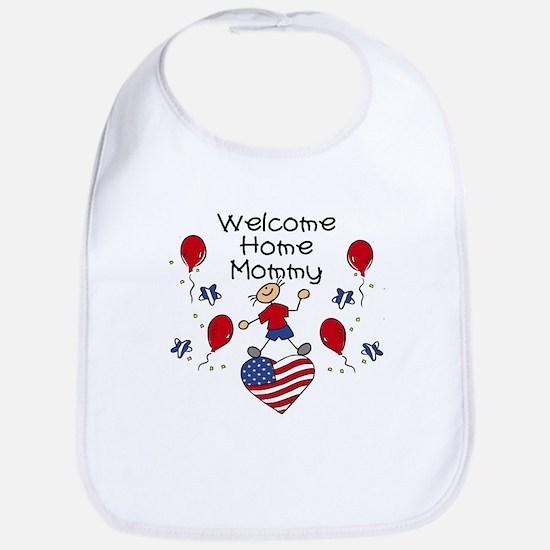Welcome Home Mommy - Boy Bib
