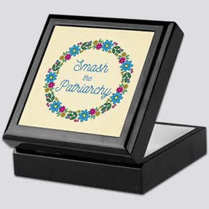 Smash the Patriarchy Keepsake Box