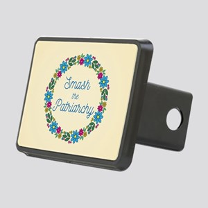 Smash the Patriarchy Rectangular Hitch Cover