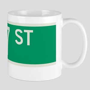 127th Street in NY Mug