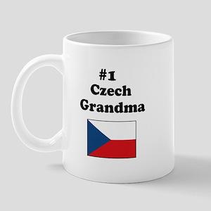#1 Czech Grandma Mug