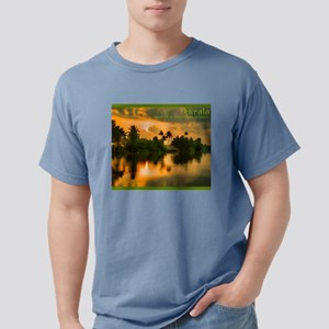 Sunrise on the Kerala water ways T-Shirt
