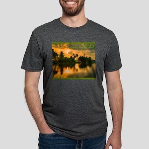 Sunrise on the Kerala water ways T-Shirt