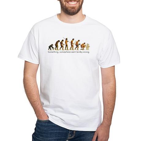 Bad Evolution White T-Shirt
