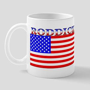 Roddick American Flag Mug